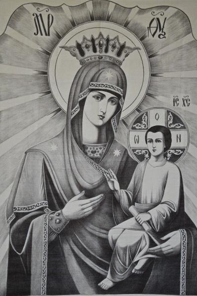 Рисунок осужденного ИК-8 примет участие в основном этапе конкурса православной живописи «Явление»