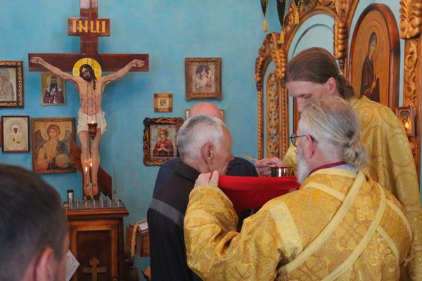 Осужденные ИК-3 поклонились мощам святого Иоанна Крестителя