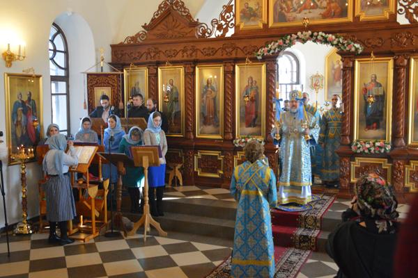 Руководство и сотрудники УФСИН приняли участие в престольном празднике храма иконы «Всех скорбящих Радость»