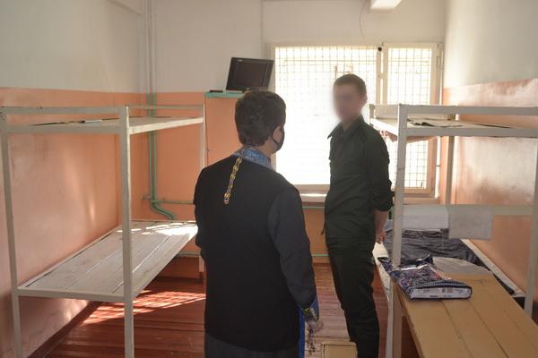 Священнослужитель посетил СИЗО-1 УФСИН России по Амурской области