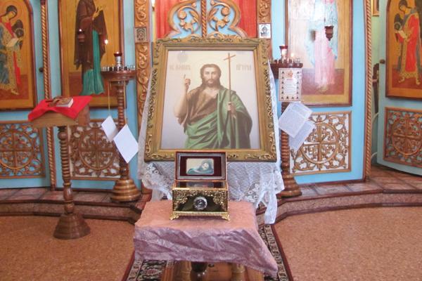 В храме исправительной колонии № 3 прошел престольный праздник