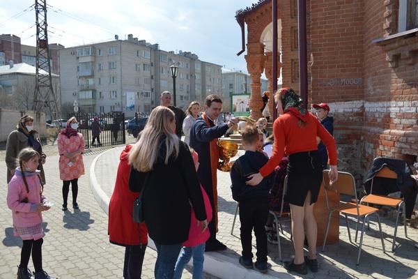 Сотрудники УФСИН России по Амурской области приняли участие в проведении праздника Святой Пасхи