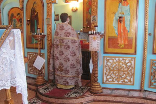 В храме ИК-3 УФСИН России по Амурской области совершили Божественную литургию